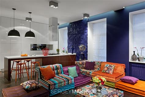 3 whimsical apartment interiors sergey makhno