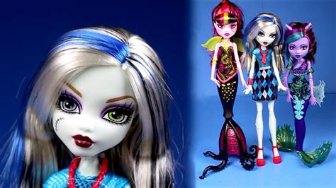 monster high dolls collection 2016 3 dolls scarrier
