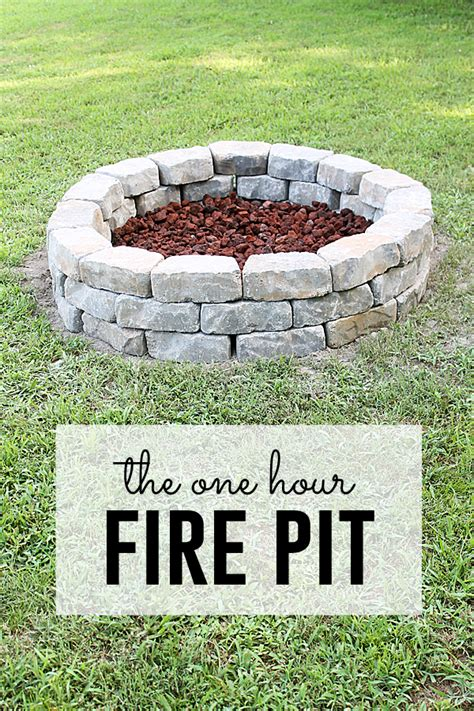 fire pit project hour