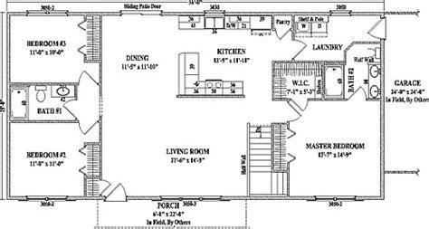 jamestown iii wardcraft homes ranch floorplan