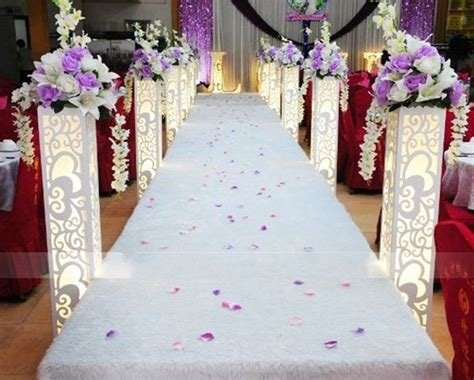 wholesale wedding supplies carved pillar column light hollow