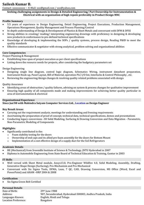 5 years testing experience resume format images engineering