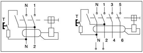 4 pole id model rccb elcb rcd 16a