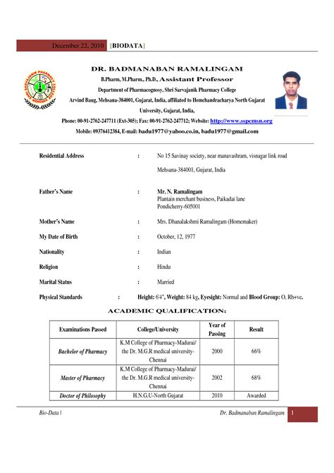 Resume Format For Teaching Freshers.html