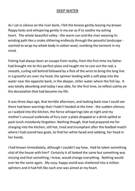 year 6 reading comprehension fishing loss emotion katejam