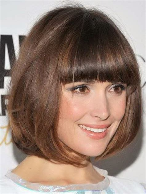 bob haircut bangs short bob hairstyles layers bangs