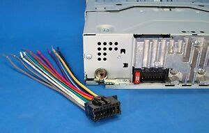 pioneer radio plug stereo wire harness deh 14ub