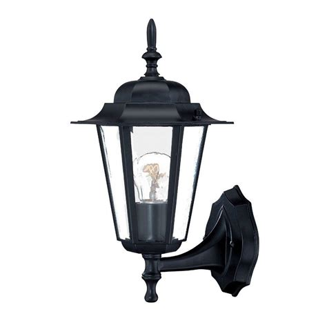 acclaim lighting camelot collection 1 light matte black
