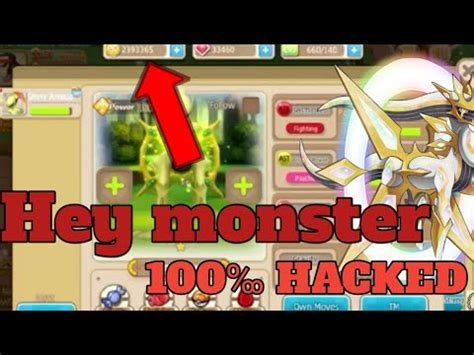 hey monster hack infinite coins gems unlock pokemon