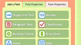 features key features html form builder online php