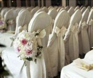 polyester banquet chair covers wedding reception party decorations
