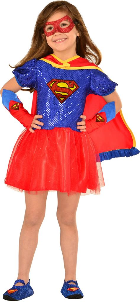 create girls supergirl costume accessories party city