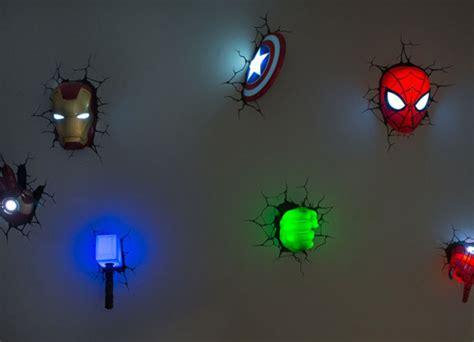 avengers superhero 3d deco lights home design interior