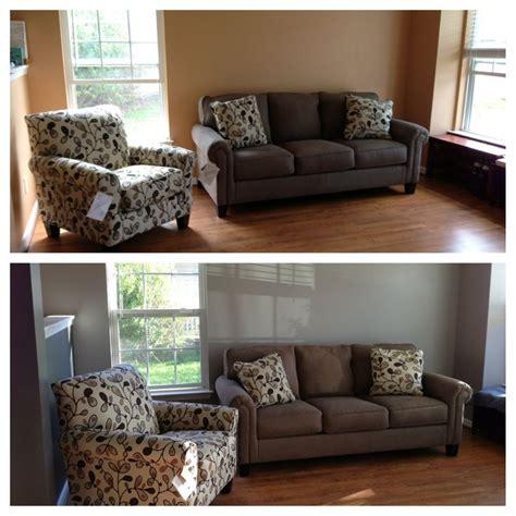 living room top nasty ugly orange beige matched