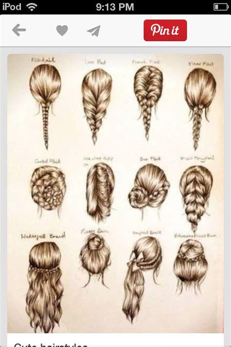 cute easy hairstyles school party pinterest hair