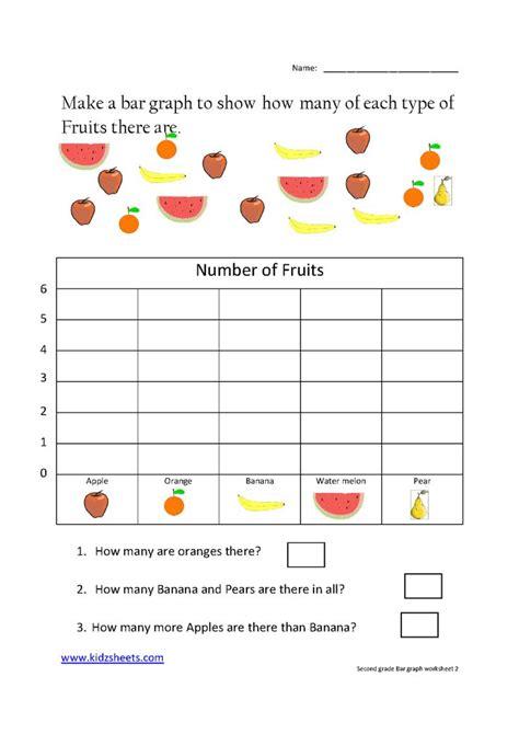 grade bar graph worksheet2 images grade worksheets kids