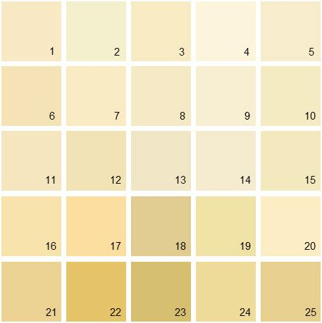 benjamin moore yellow house paint colors palette 02