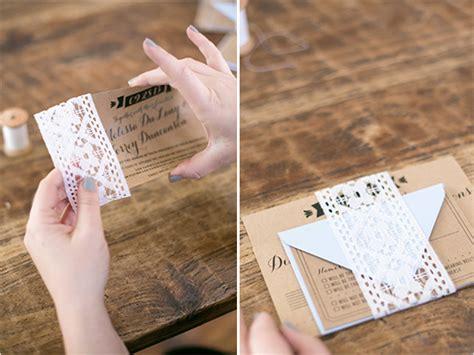 diy wedding invitations stunning fun ideas junk mail