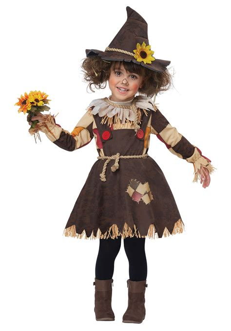 toddler pumpkin patch scarecrow costume