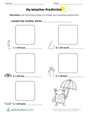 silly weather vane activity education