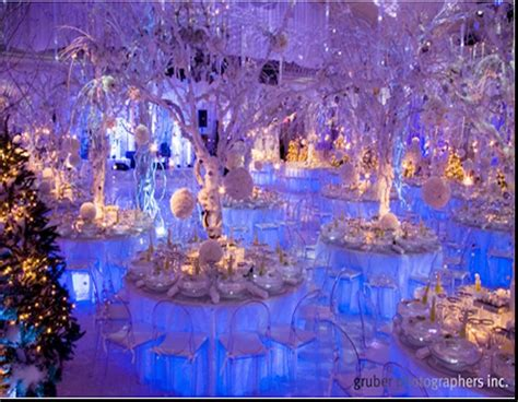 astounding winter wonderland theme wedding reception winter wedding