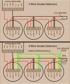 hardwired smoke detectors system sensor alarm wiring smoke