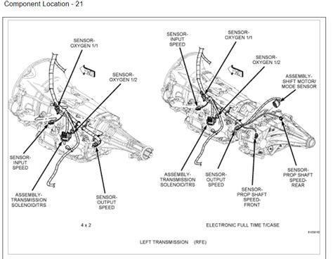 2005 chevy silverado transfer case motor diagram html