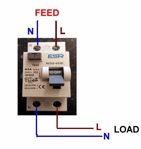 wiring rcd rccb diynot forums