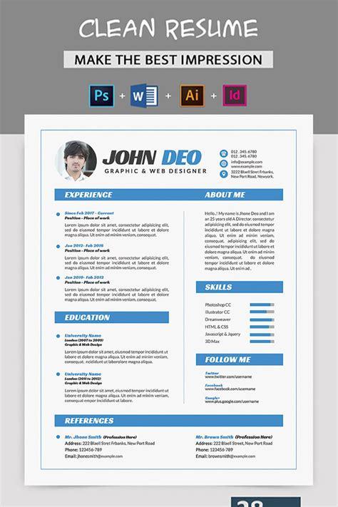 john deo resume template 77917 resume design template