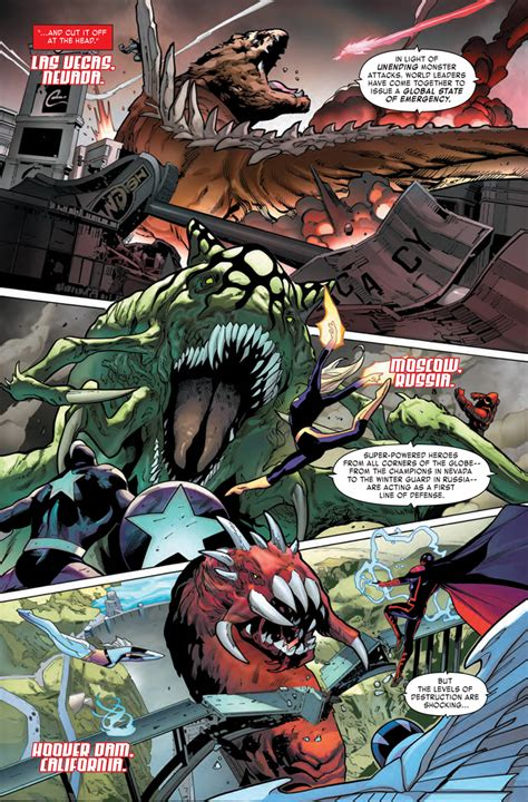 monsters unleashed 2 preview comics news