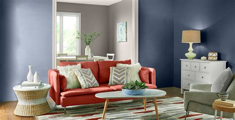 bold living room ideas inspirational paint colors behr