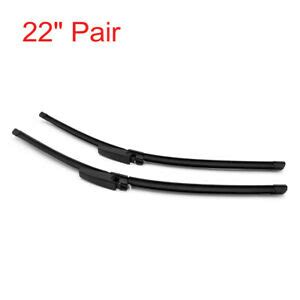 22 pair car bracketless front window windshield wiper
