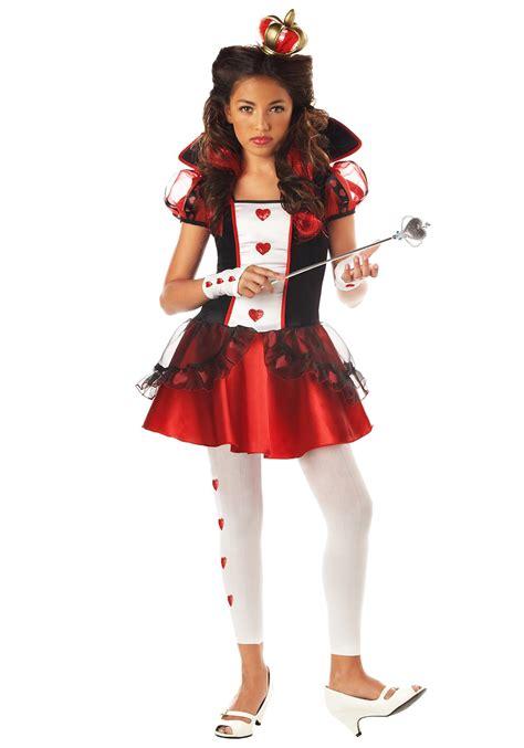 Tween Queen Hearts Costume