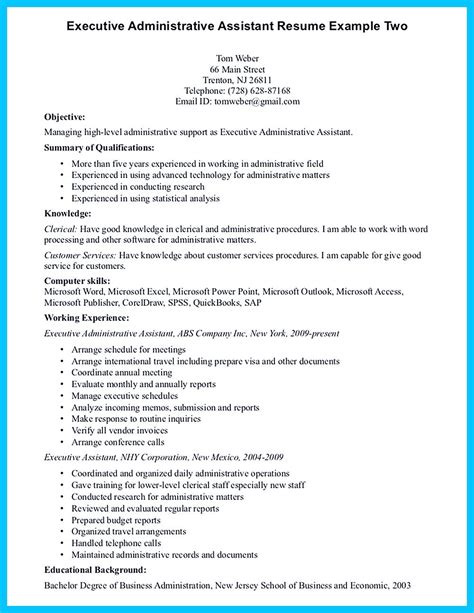 writing entry level administrative assistant resume understand resume