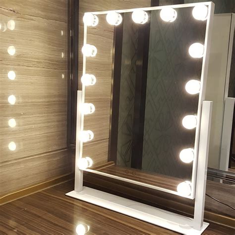 15 led bulbs hollywood vanity lights makeup standing