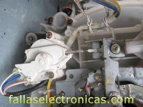 lavadora lg centrifuga falla de freno fallaselectronicas