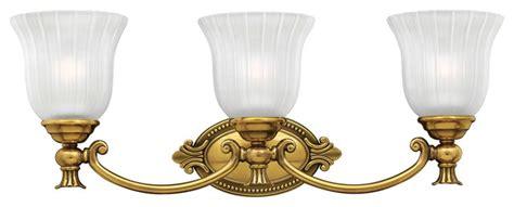 hinkley francoise 3 light vanity victorian bathroom vanity