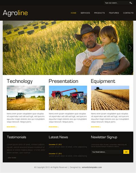 landing page design high quality html css website