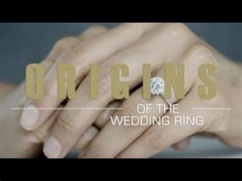 origins wedding ring left hand youtube