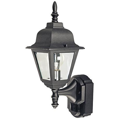 Country Cottage Black Motion Sensor Outdoor Wall Light H6924 Lsplus Com.html