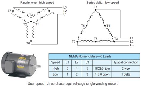2 speed 3ph wiring question