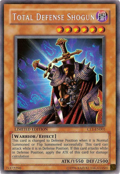 total defense shogun yugioh philosophy