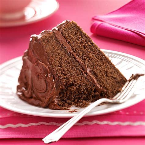 devil food cake chocolate fudge frosting recipe taste