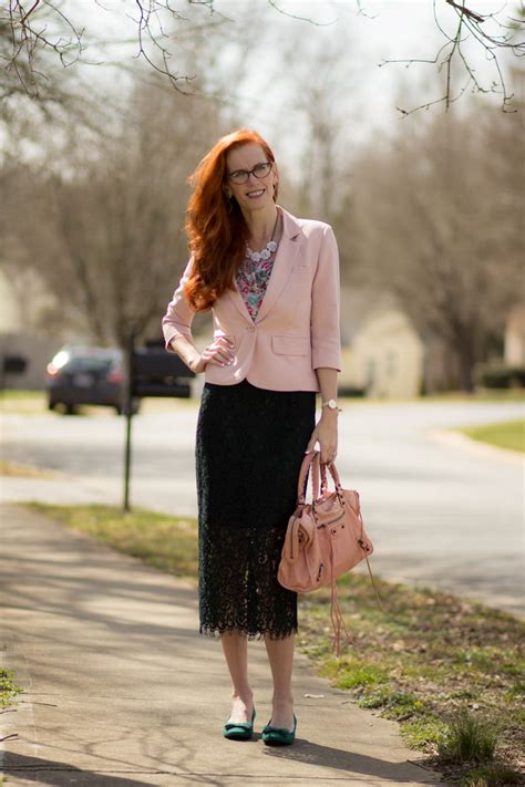 turning heads linkup rose quartz lace green skirt