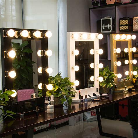 vanity mirror light hollywood makeup mirror wall mounted