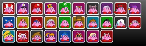 smash bros wishlist kirbies umsauthorlava deviantart