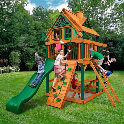 swing sets small yards backyard site