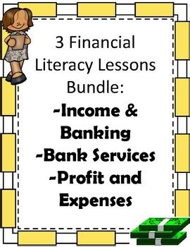 elementary financial literacy bundle booklets activities
