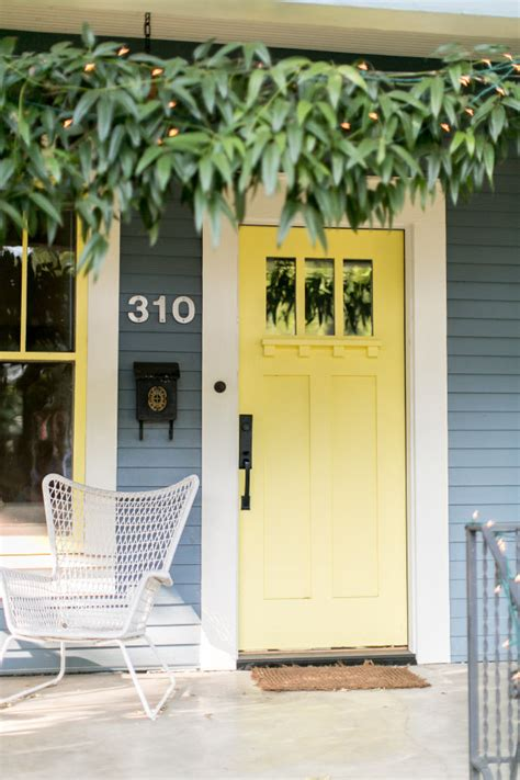 yellow gray design paint exterior home