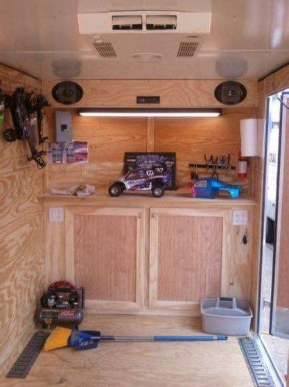 29 easy diy enclosed trailer storage ideas 2020